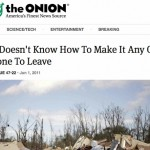 """PI Roger Summons """"quoted"""" in the Onion"""