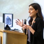 Graduate Student Fatima Husain gives an MIT Chat
